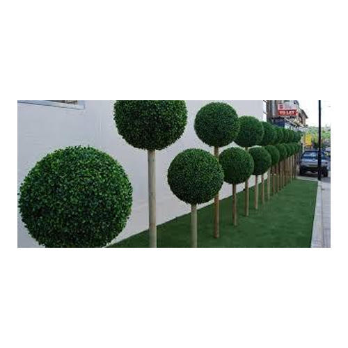plastic green artificial outdoor plants, rs 400 /piece, be nature
