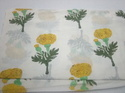 Indian Mul Mul Hand Block Flower Printed Cotton Fabrics
