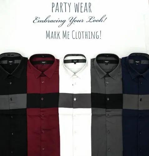 Mens Partywear Shirt
