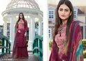 Simran-Vastra Moda Pashmina Print With Embroidery Work Salwar Suits Collection