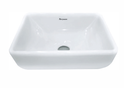 Parryware Pristine Iv Over Counter Top Wash Basin White
