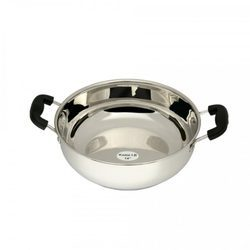 Stainless Steel Kadai Without Lid
