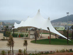Conical Tensile Membrane Structures