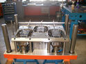 3cavity Aluminum Foil Container Mould