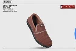 Soft Cloth Tan Designer Casual Shoes