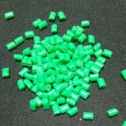 Green PP Granules, 25 Kg