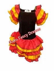 Flamingo Girl Dress