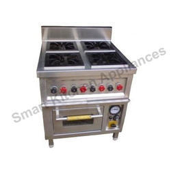 Four Burner Gas with Oven