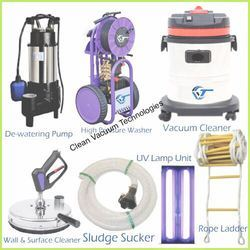 Commercial Water Tank Cleaning Machines