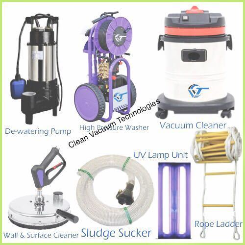 Tank Cleaning Equipments Commercial Water Machines Manufacturer From Hyderabad