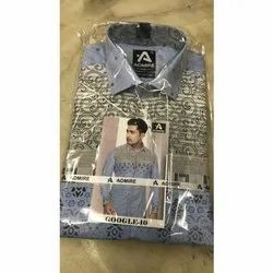 Casual Wear Printed Mens Fashion Shirt, Size: 36, Packaging Type: Packet