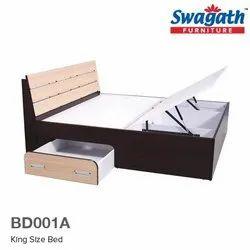 Oak Wood Bed