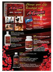 Male Booster Herbal Product