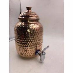 2 Liter Copper Water Tank