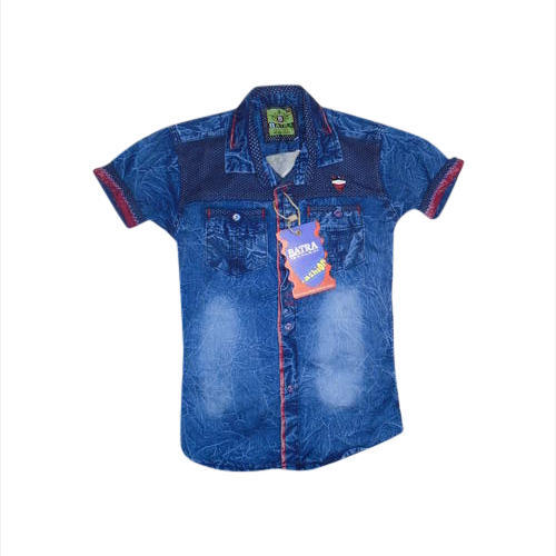 ac639fd3a Boys 24 Kids Denim Shirt, Rs 200 /piece, Batra Exclusive Wear | ID ...