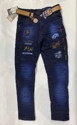 Printed Designer Jeans
