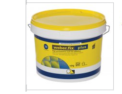 Weber Fix Plus Acrylic Ready Mixed Wall Tile Adhesive 15KG