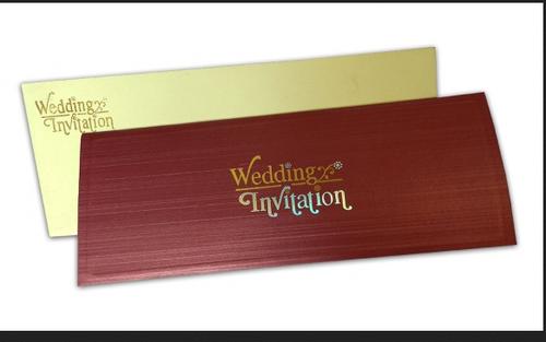Brown metallic brick texture invitation card size 305 x 12 cm brown metallic brick texture invitation card size 305 x 12 cm stopboris Gallery