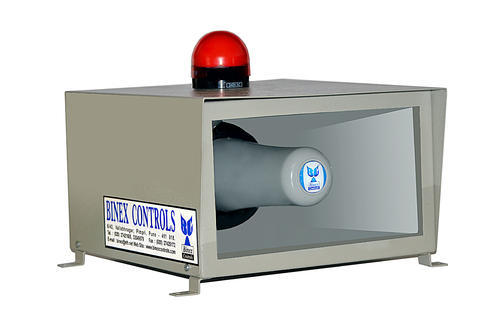 Electronic Visual Voice Hooter