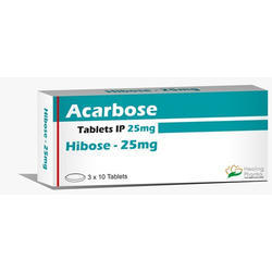 Hibose 25 mg Acarbose Tablet