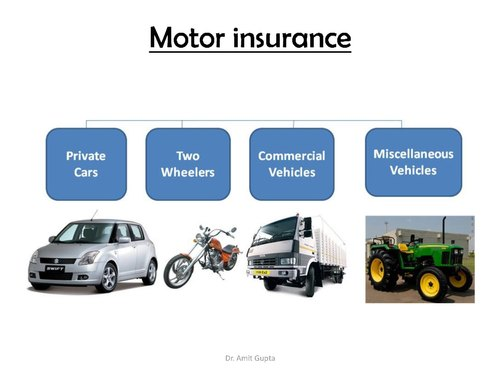 Vehicle Insurance (Private Cars, Two Wheeler, Commercial, Miscellaneous Vehicle)