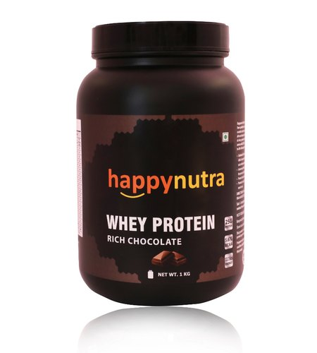 Whey Protein Powder 1kg with Digestive Enzymes(Chocolate)