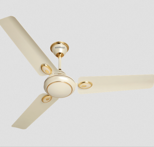 Havells White Fusion Es Mm Sweep Pearl Ivory Gold Ceiling Fan