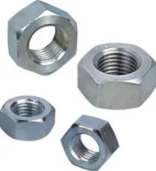 DEPL Natural Finished & Plated MS HEX NUT, Size: M4 Onwards