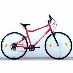 BTwin Riverside 100 Red Hybrid Cycle, Model Name/Number: 8535135