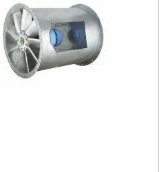 Bifurcated Axial Flow Fans