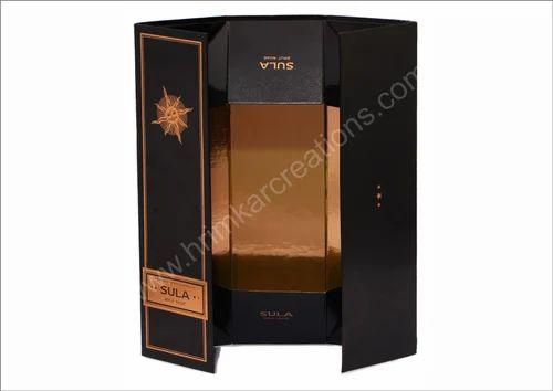 Liquor Flat Packaging Box