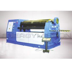 Energy Mission 4 Roll Hydraulic Plate Bending Machine