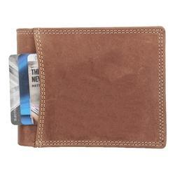 Mens Brown Leather Wallet