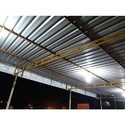 Steel Dairy Farm Structural Shed