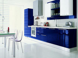 Commercial  High Gloss Modular Kitchen
