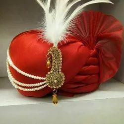 Red Wedding Turban