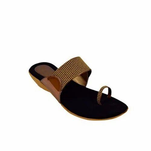 415b78d95ce6 Ladies Stepee Flat Slippers