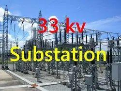 11 Kv- 33 Kv Electrical Substation Installation Services, 11000-132000, Substation Capacity: 11kv -33kv