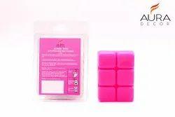 AuraDecor Rose Scented Wax Melt Cubes