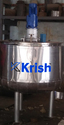 Industrial Jacketed Heating Mixing Tank
