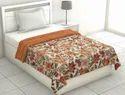 Floral Printed Cotton Single Bed Dohar