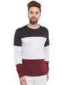 Men Full Sleeve Multicolour Round Neck T-Shirt