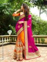 Designer Embroidered Georgette Saree