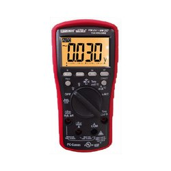 3-5/6 DIGIT 6000  Counts TRMS Digital Multimeter with EF-Detection and PC interface KM-255/257