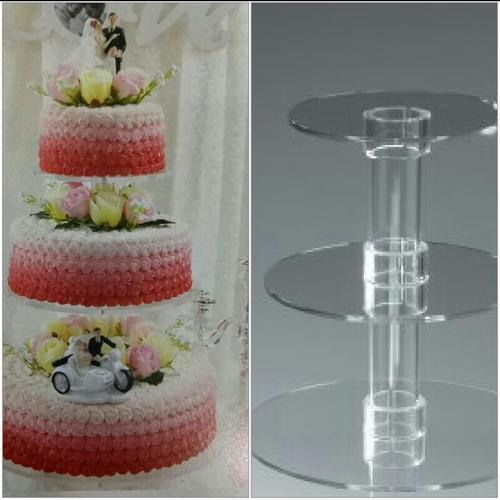 3 separate tier wedding cake stand 3 tier wedding cake stand 4 kg at rs 1000 cake 10211