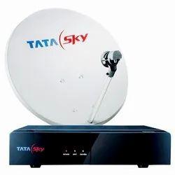 塔塔天空高清新DTH连接与1年的印度价值SD包订阅