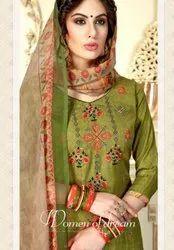 Levisha Faiza Pure Pashmina Dobby Print With Work Patiyala Suits Catalog Collection