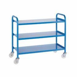 Stainless STEEL Metal Trolley, Capacity: 50 - 2000 Kgs, Model Number/Name: Sftry