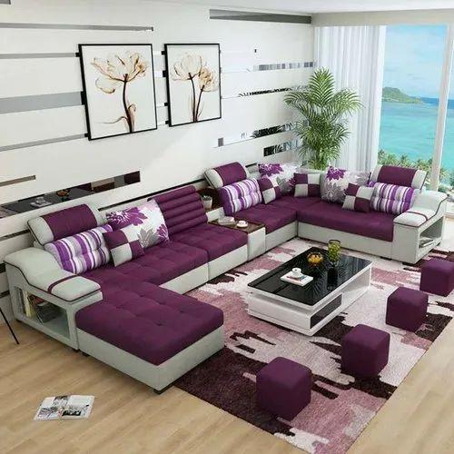 7 Piece Sofa Set C Shaped य श प, 7 Piece Living Room Set