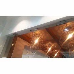 Transparent Office Cabin Glass